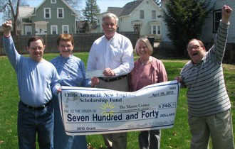 Chris Antonelli New England Scholarship Fund Provides a Grant to The Moore Center