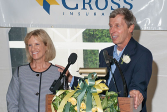 Former Governor John Lynch and Dr. Susan Lynch Honored at Moore Center Garden Party