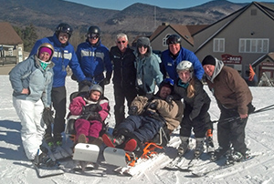 Adaptive Ski Session at Waterville Valley