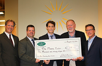 The Moore Center Receives $1,098 From the Provident Bank