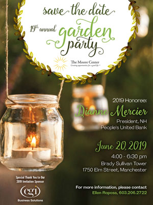 Save the Date – The 2019 Garden Party is June 20th!