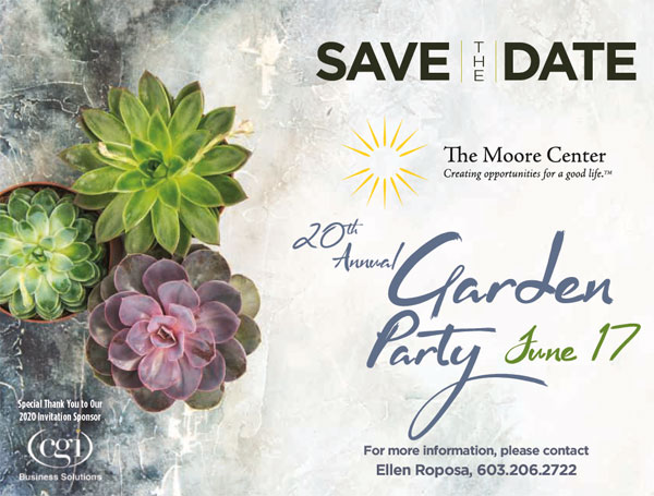 2020 Garden Party – Save the Date!